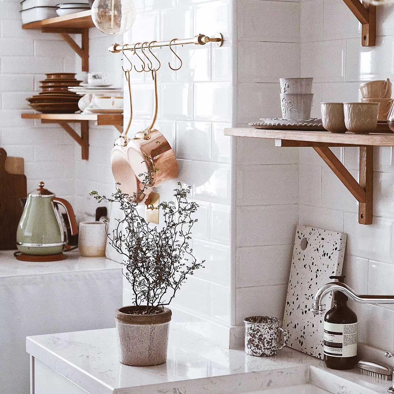 välj hållbara material vid din köksrenovering