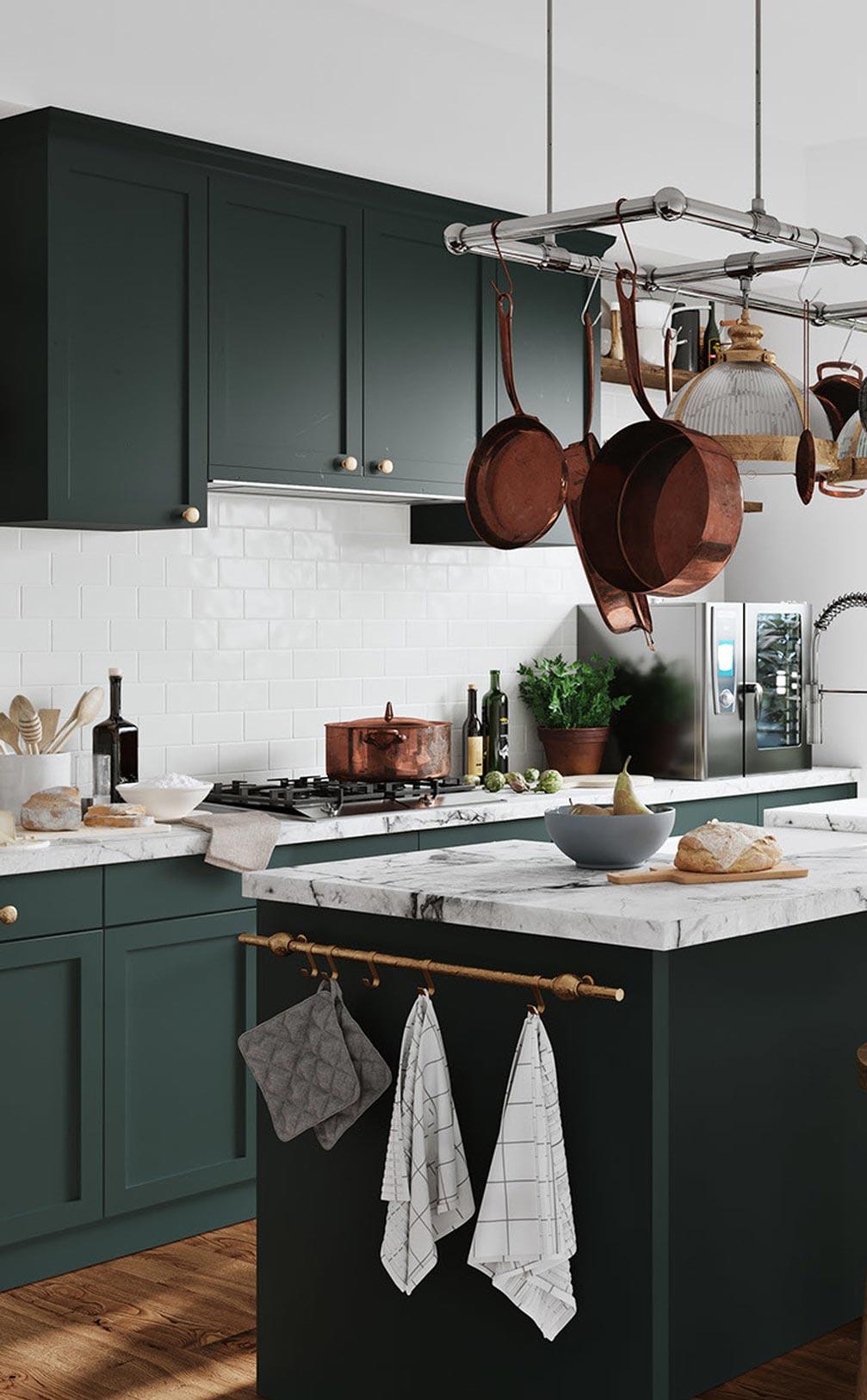 vid en köksrenovering har du möjlighet att optimera ytorna
