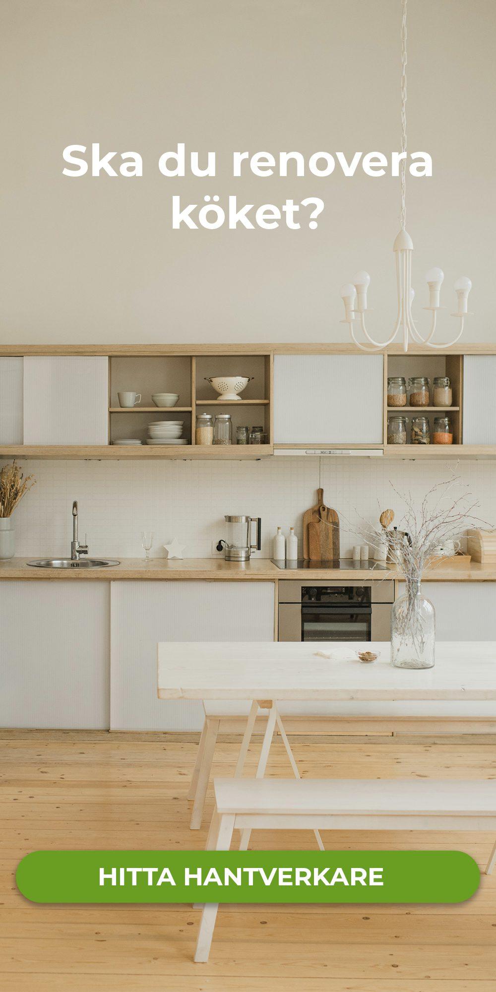 Ska du renovera köket?